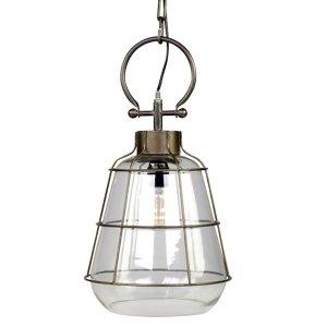 Lampa sufitowa Chic Antique - FACTORY - szklana 43,5 cm
