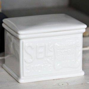 PROVENCE CHIC - pojemnik na sól