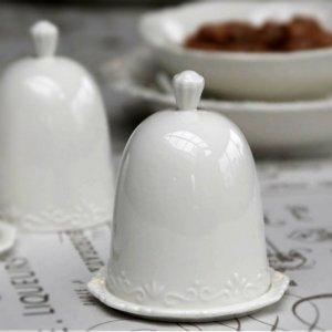 PROVENCE CHIC - kieliszek z przykrywką na jajko
