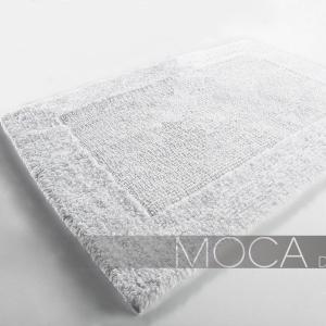 Dywanik łazienkowy Moca Design - Frame - biały