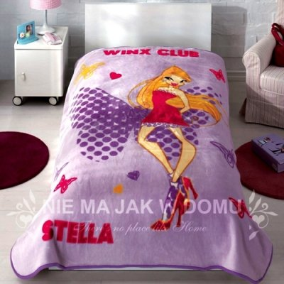 Narzuta Koc Tac - Winx Club - Stella