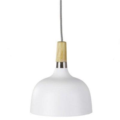 Lampa sufitowa - ACKY - biała 22 cm