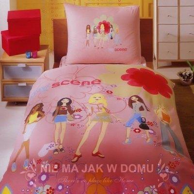 Pościel Tac Barbie My Scene + prześcieradło