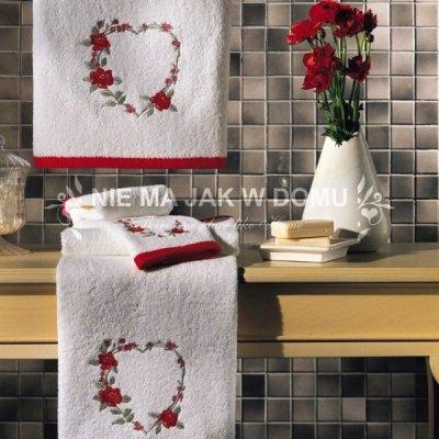 Komplet ręczników Tac - Serduszka 1 - 3 szt.