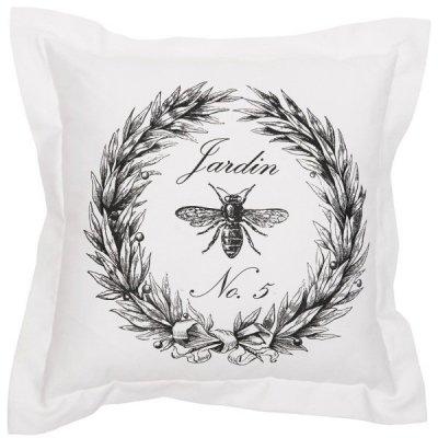Poduszka dekoracyjna French Home - Jardin - biała