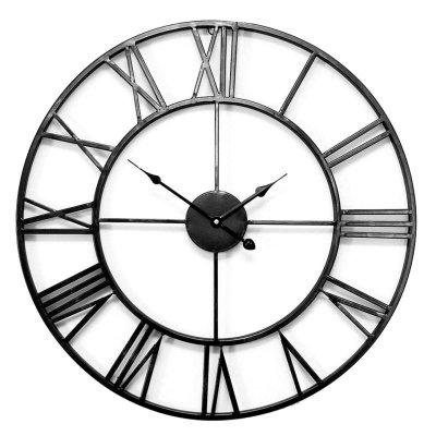 Zegar Old Style XXL - 100 cm - czarny