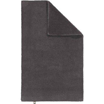 Dywanik łazienkowy Rhomtuft - PUR - szary ciemny