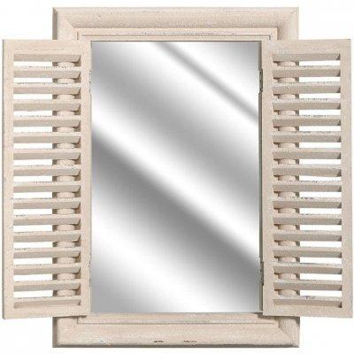 Lustro okno z okiennicami Belldeco Bosco - 70 cm