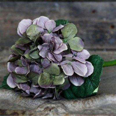 Sztuczny kwiat - Hortensja - fioletowa