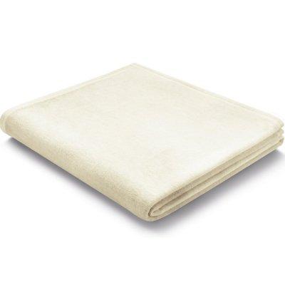 Koc Biederlack 100% bawełna - Pure Cotton - ecru