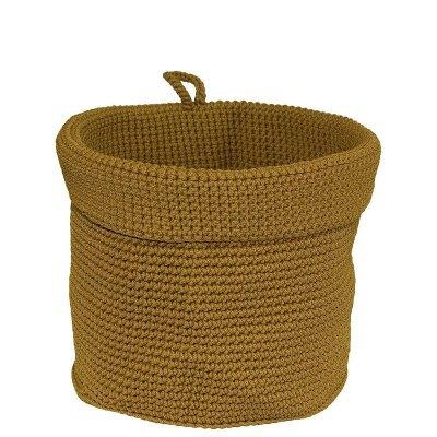 Koszyk łazienkowy - jasny brąz - 21 cm