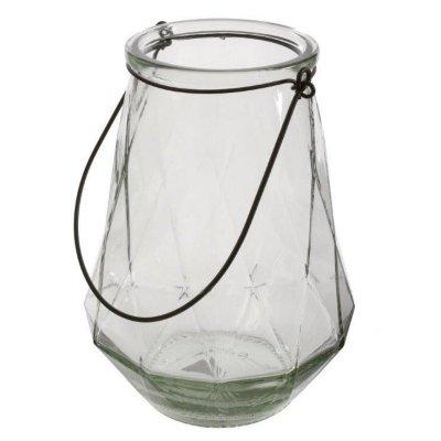 Lampion Glass - przeźroczysty 36,5 cm