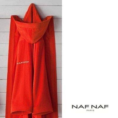 Szlafrok NAF NAF - Unisex - pomarańczowy