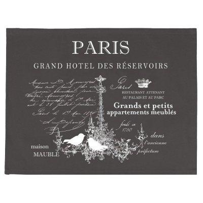 Serweta / podkładka French Home - Paris - szara