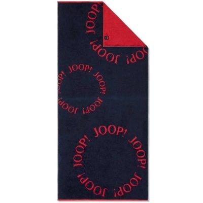 Ręcznik plażowy Joop! BEACH CAPSULE - czerwono-granatowy