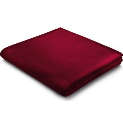 Koc Biederlack 100% bawełna - Pure Cotton - malinowy