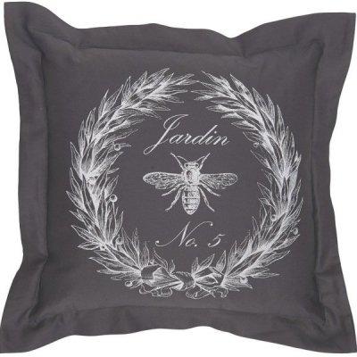 Poduszka dekoracyjna French Home - Jardin - szara