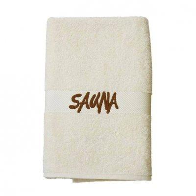 Ręcznik do sauny - 70x180 cm - beżowy