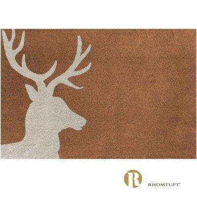 Dywanik łazienkowy Rhomtuft - Lord - jasno-brązowy
