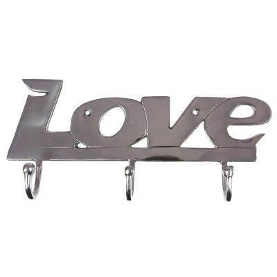 Wieszak LOVE - 3 haczyki
