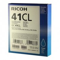 Ricoh oryginalny żelowe wypełnienie 405766, cyan, 600s, GC41C, Ricoh AFICIO SG 2100N