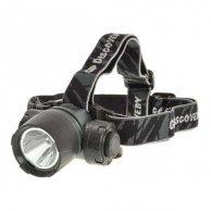 LED Flashlight, 3xAAA, plastikowy, czarna, GP LCE604