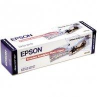 Epson 329/10/Premium Semigloss Photo Paper, 329mmx10m, 13, C13S041338, 250 g/m2, foto papier, półpołysk, biały, do drukarek atram