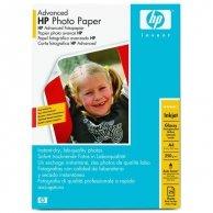 HP Advanced Glossy Photo Pa, foto papier, połysk, zaawansowany, biały, A4, 250 g/m2, 25 szt., Q5456A, atrament