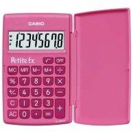 Kalkulator Casio, LC 401 LV PK, różowa