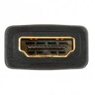 Złączka HDMI-HDMI, F/F, Logo