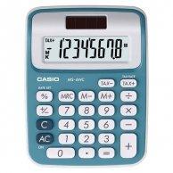 Kalkulator Casio, MS 6 NC, niebieska
