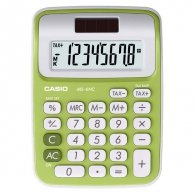 Kalkulator Casio, MS 6 NC, zielona