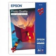 Epson Photo Quality InkJet Pa, foto papier, matowy, biały, A4, 104 g/m2, 720dpi, 100 szt., C13S041061, atrament
