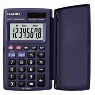 Kalkulator Casio, HS 8 VER, czarna