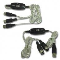 Redukcja Audio, USB(A)-5pin (2x), M/F, No Name