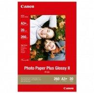 Canon Photo Paper Plus Glossy, foto papier, połysk, biały, A3+, 260 g/m2, 20 szt., PP-201 A3+, atrament