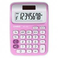 Kalkulator Casio, MS 6 NC, różowa