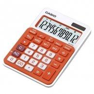 Kalkulator Casio, MS 20 NC, pomarańczowa
