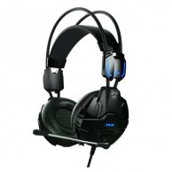 E-Blue, Cobra, Gaming Headset, czarna, USB konektor