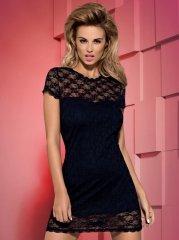 Dressita sukienka i stringi kolor czarny