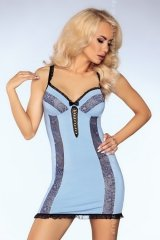 Sofya LC 90302 Blue Sensual Collection koszulka i majtki