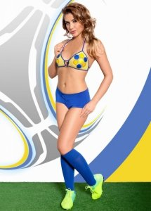 xViktoria - yellow-blue kibic EURO