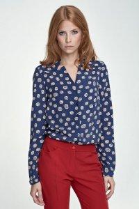 Bluzka z wycięciami - dynie - B71