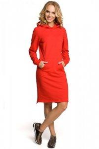 M329 Sukienka czerwona
