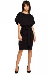 B058 sukienka czarna