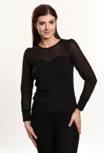 Elena czarny bluzka