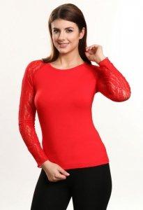 Kelly bluzka czerwony