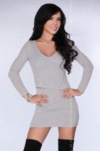 CG016 Gray sukienka
