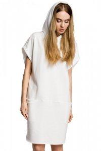 M368 Sukienka ecru