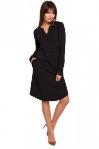 B017 sukienka czarna